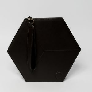 Flat Hexacube in Black