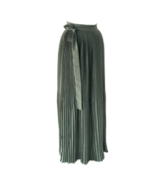Pleated Maxi Skirt By Guillermo Jester