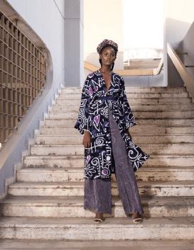Cloed Kimono Set