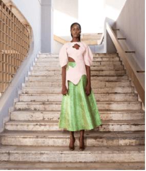 Asooke Blouse and Skirt Set