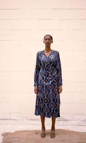 Wrap Dress by Ankara On Brand