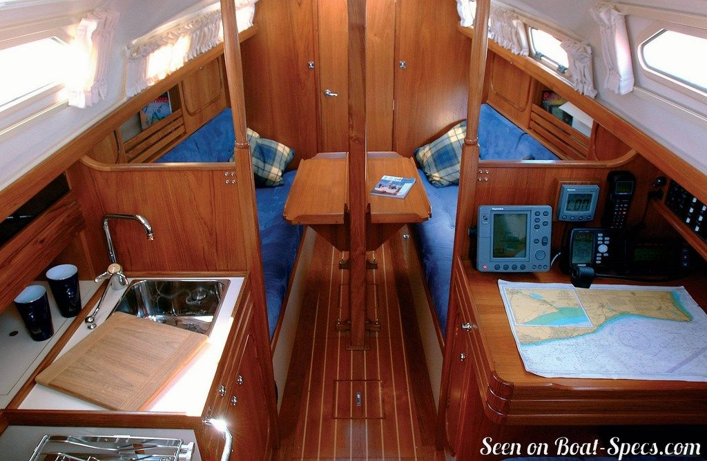 Vancouver 28 Northshore Sailboat Specifications And