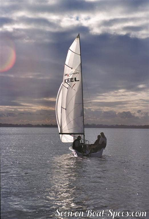 Laser Stratos Fin Keel Laser Performance Sailboat
