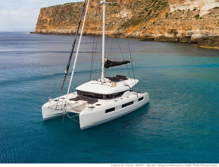 Bareboat Catamaran Lagoon 50 6 1 Cabins Portisco Sardinia Boatbookings