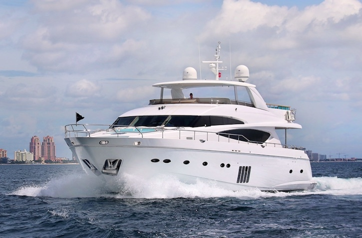 Crewed Motor Yacht CRISTOBAL Princess 95 4 Cabins