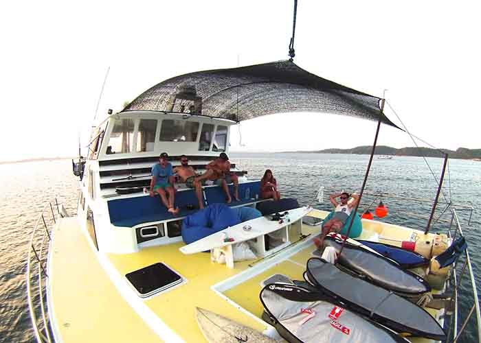Crewed Power Catamaran Custom 46 Cat 4 Cabins Bali