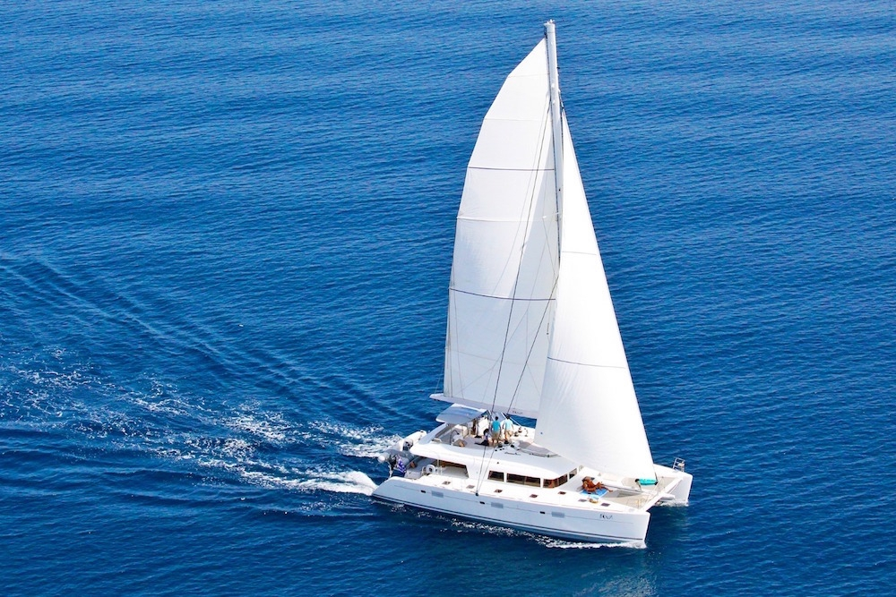 Luxury Crewed Catamaran NOVA Lagoon 620 4 Cabins