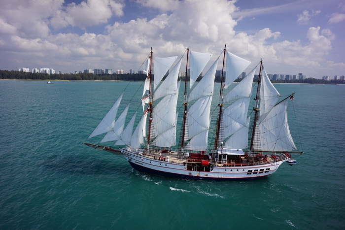 Corporate Event Yacht Classic Sailing Yacht Guest