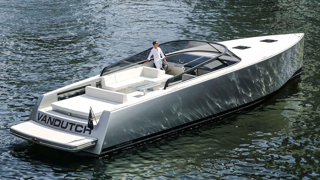 Crewed Motor Yacht Van Dutch 55 2 Cabins Cannes