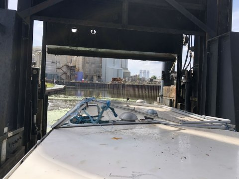 Boatbreakers on the Anderton Boat Lift