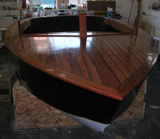 14 V Hull Stitch And Glue Boat Jamie Poynton Boat