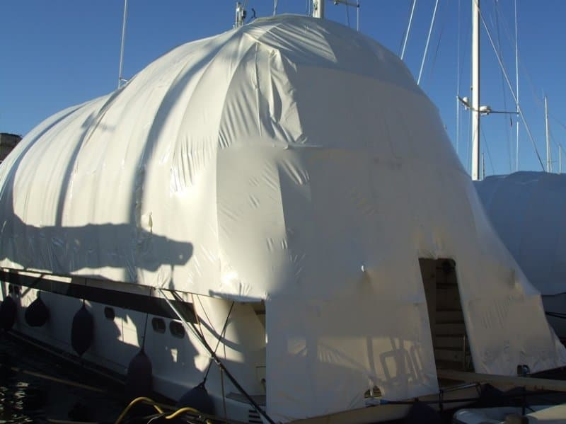 shrink wrapping service by boatcare trading limited