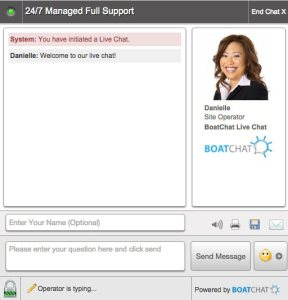 Generate leads with live chat