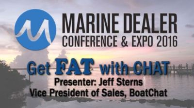 Learn about boat dealer chat at MDCE workshop