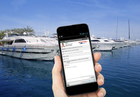 Live chat on boat dealer mobile sites sells more boats
