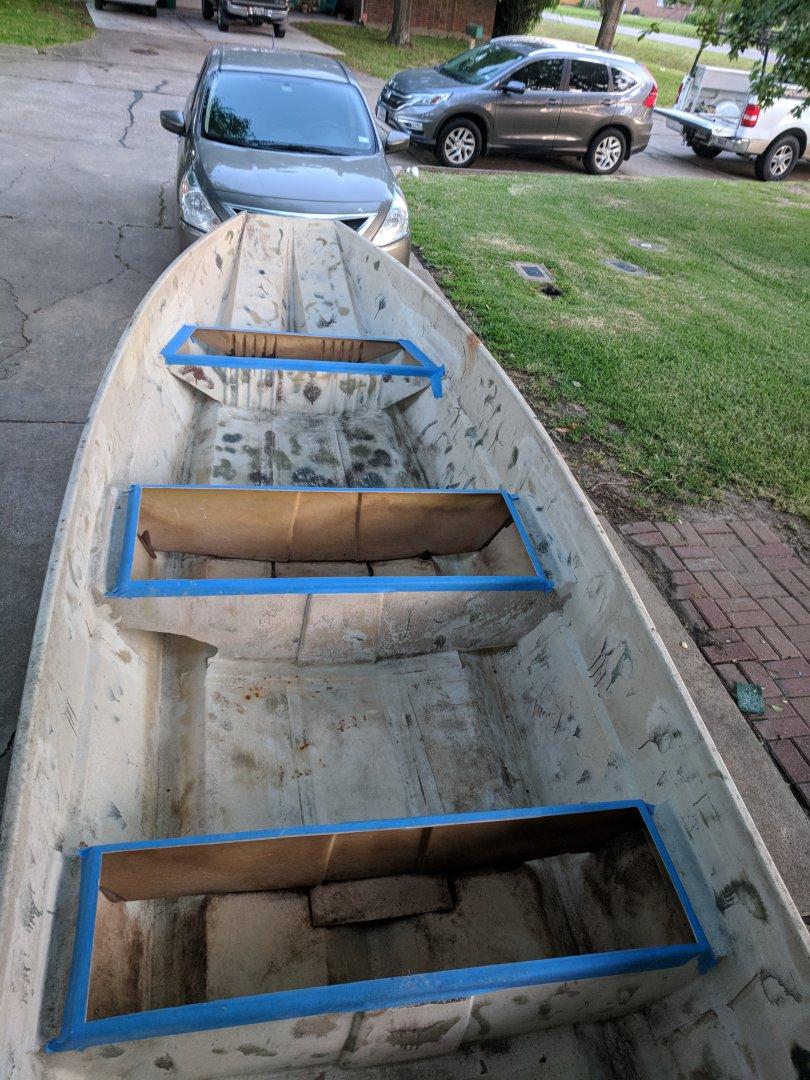 12 Tri Hull Jon Boat Conversion To Micro Skiff Boat