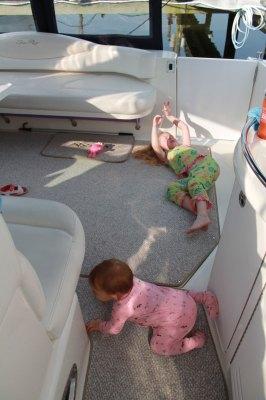 boat cockpit kids