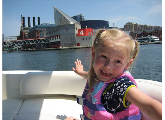 boating trip kids
