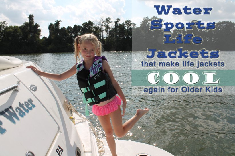 water sports life jackets kids