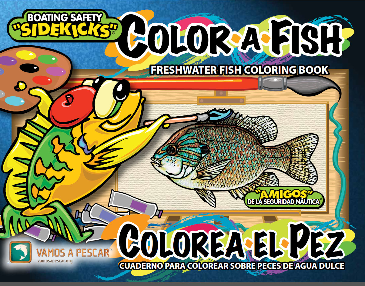 Freshwater Fish Coloring Book for Kids in English and ...