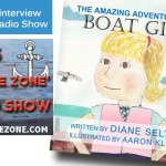 Bob's No Wake Zone Boating Radio Show Interview on Boat Girl Book