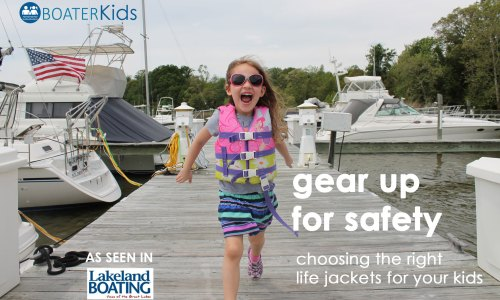 Gear up for Safety with the Right Life Jackets for Kids