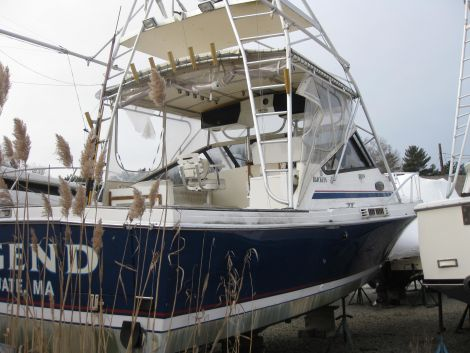 1989 32 Foot Blackfin Combi Fishing Boat For Sale In