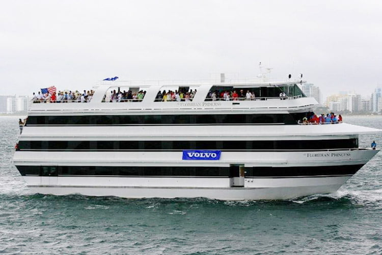 Floridian Princess 110 Foot Luxury Miami Party Yacht For