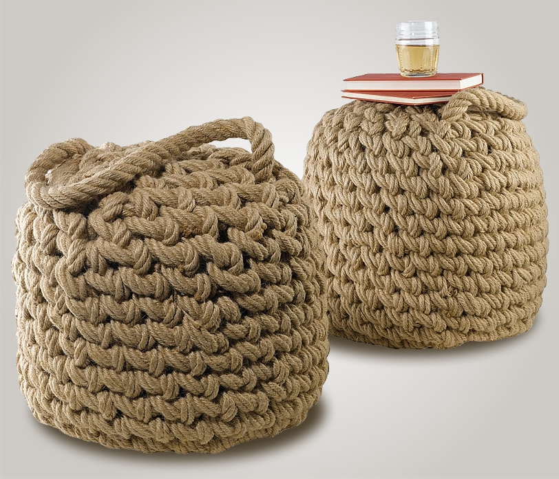 Rope Ottoman Boatmodo The Best Gifts For Boaters