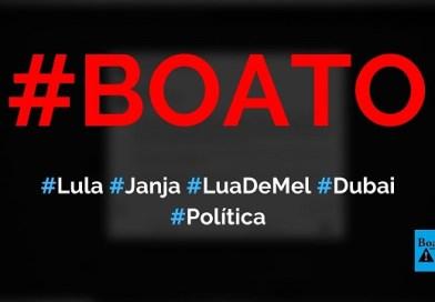 Lula pede licença ao STF para tirar lua de mel em Dubai com Janja, diz boato (Foto: Reprodução/Facebook)