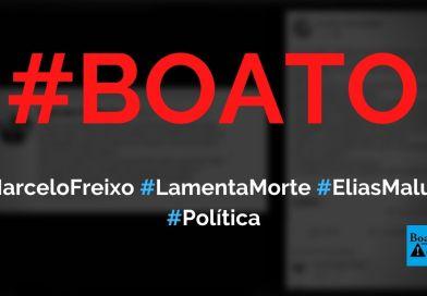 Marcelo Freixo lamentou a morte de Elias Maluco em publicação no Twitter, diz boato (Foto: Reprodução/Facebook)
