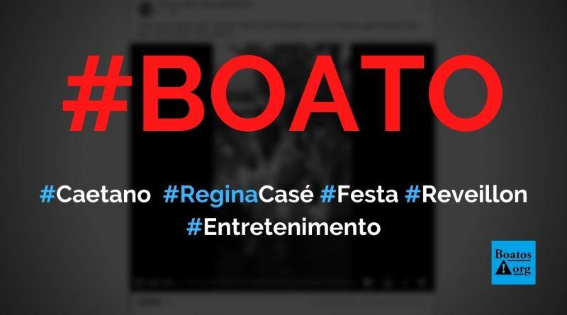 Caetano, Bethânia, Mart'nalia e Regina Casé no réveillon 2021, diz boato (Foto: Reprodução/Facebook)