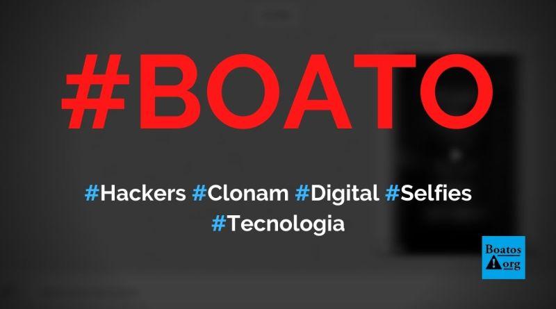 Hackers podem clonar impressão digital fotografada em selfies, diz boato (Foto: Reprodução/Facebook)