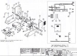 CMC PT130 Tilt and Trim 1300113002 Parts  SN PT014853