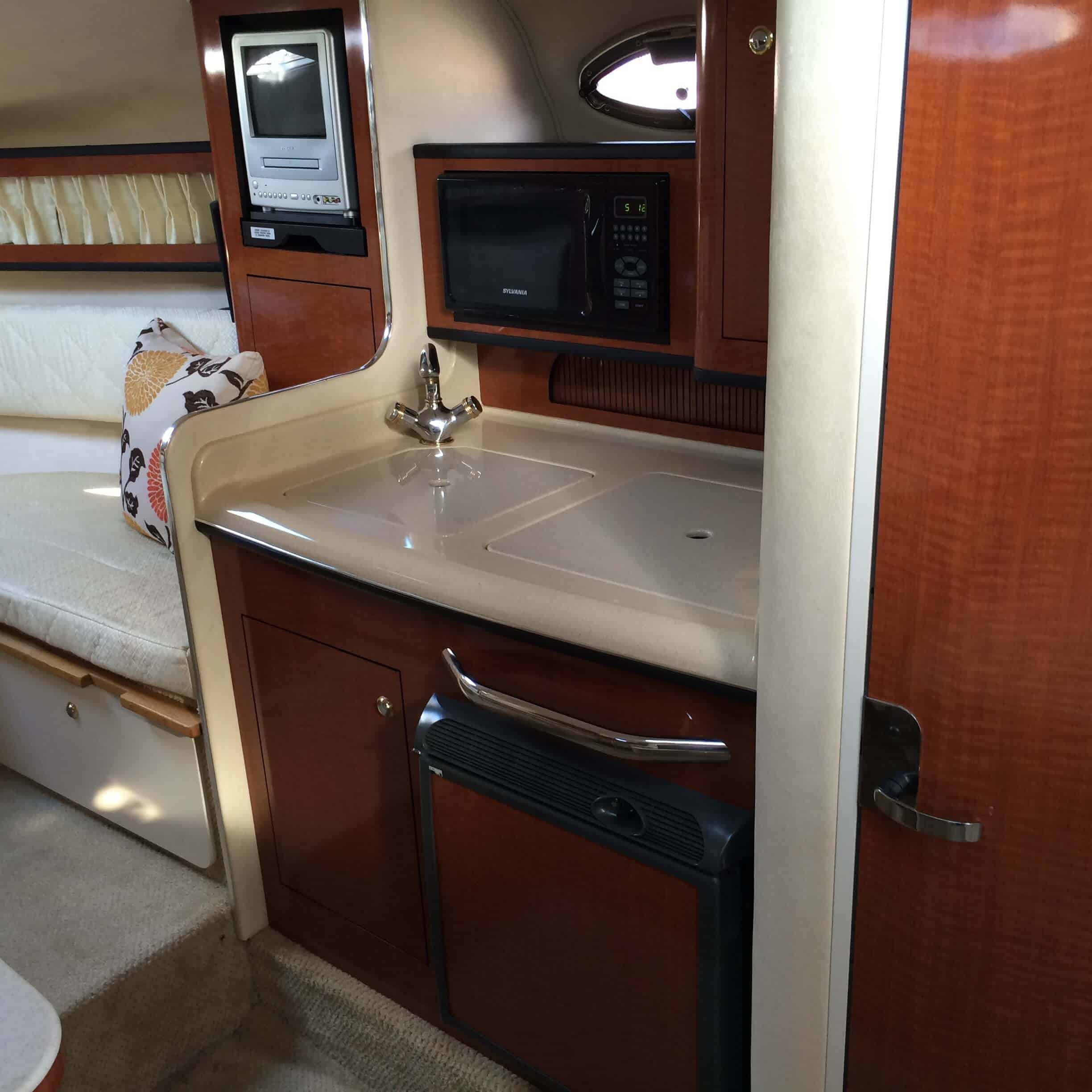 Blue Horizon Marina del Rey Tour Boat Galley