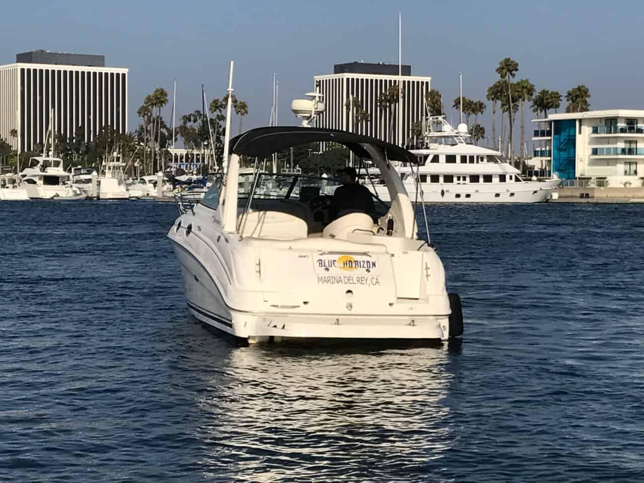 Blue Horizon - Aft - Marina del Rey Tour Boat