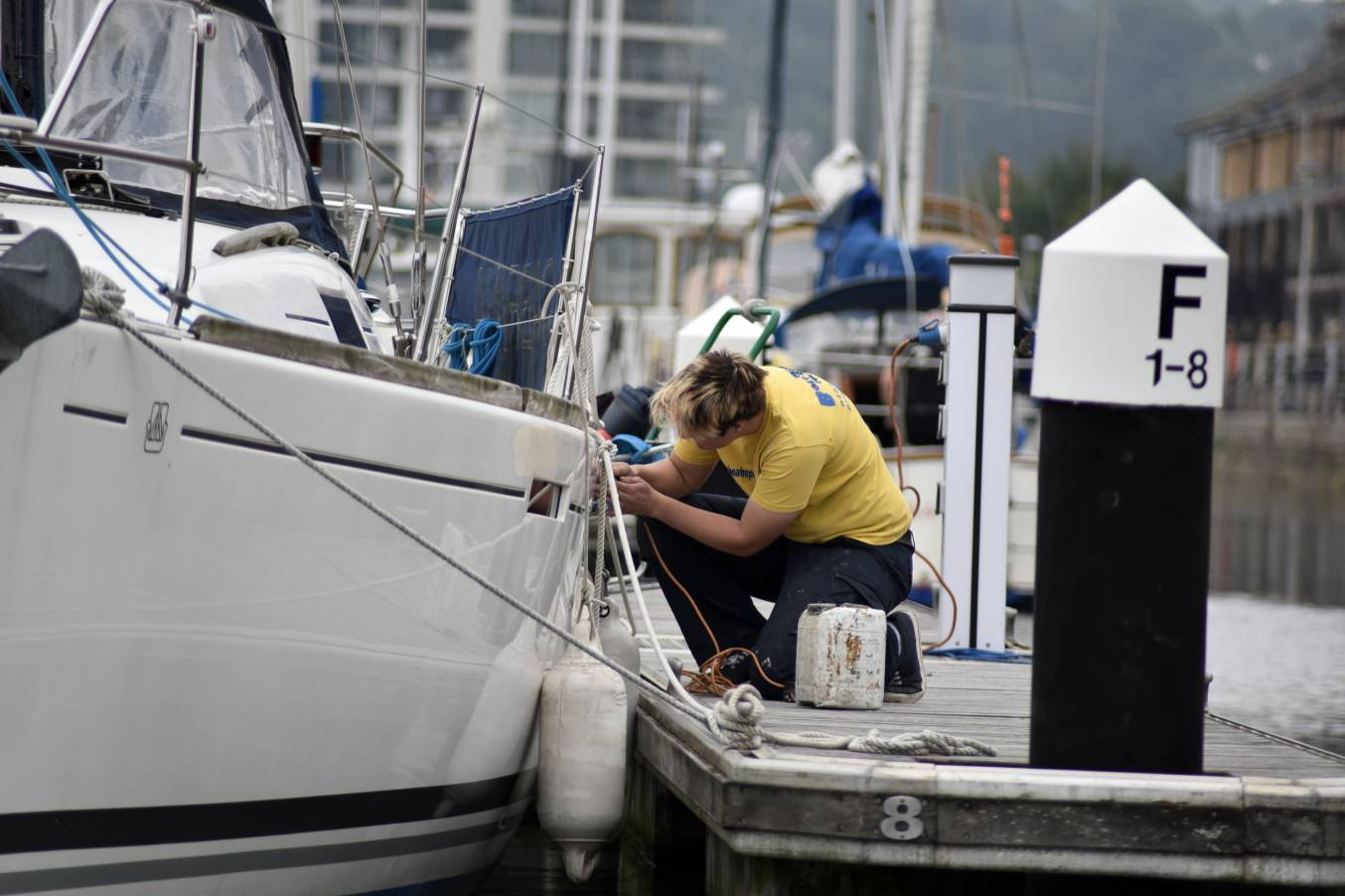 The Boat Repair Centre Weston Super Mare Jo Line Owner