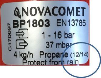 NR002 16 Clesse Regulator Recall Novacomet 12 14 Label Feb