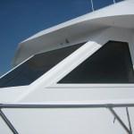 Hatteras Cockpit Motor Yacht 67' boat windows 3 pic