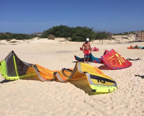 Kitesurf rental