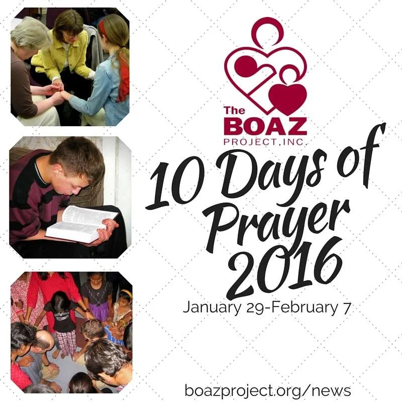 10 Days of Prayer2016