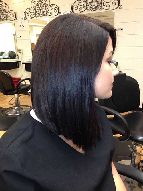 Long Bob With Bangs Hairstyles Page 1