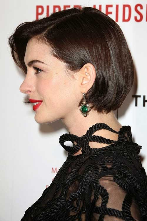 10 Anne Hathaway Bob Haircuts Bob Hairstyles 2018