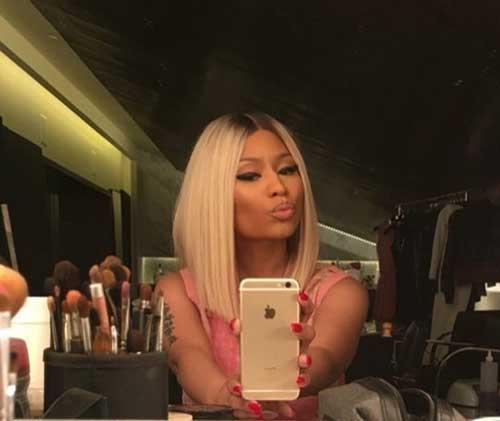 20 Nicki Minaj Blonde Bob Bob Hairstyles 2018 Short