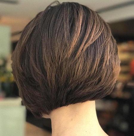 23 Short Layered Bob Hairstyles For Thick Hair Bob Haircut And Hairstyle Ideas