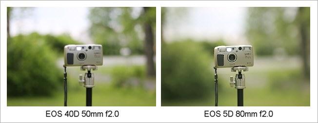 EOS 5D, EOS 40D