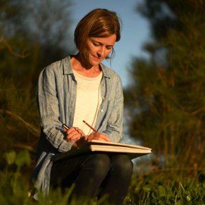 Australian landscape artist Robyn Pedley