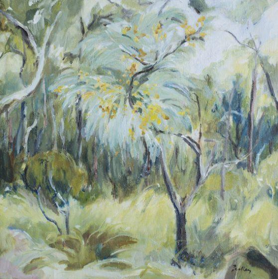 Bush Poetry II (Study) by artist Robyn Pedley @bobbiepgallery