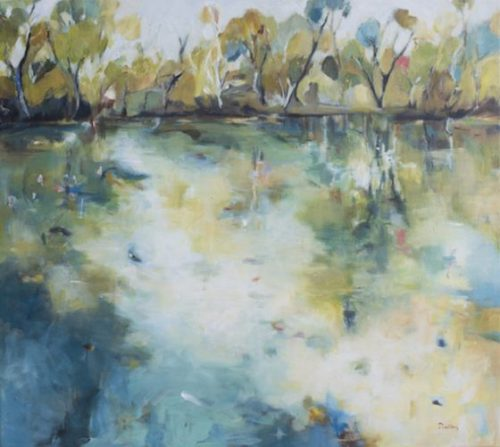 reflections by artist Robyn Pedley @bobbiepgallery