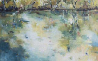 reflections by artist Robyn Pedley @bobbiepgallery